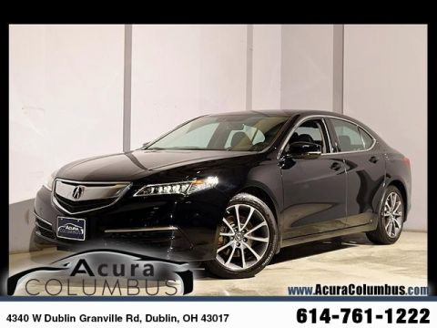 Certified Used Acura TLX 3.5 V-6 9-AT P-AWS with Technology Package