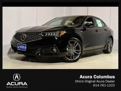 New Acura TLX 3.5 V-6 9-AT P-AWS with A-SPEC RED
