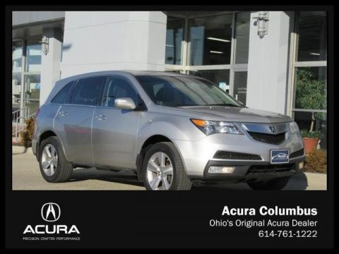 Used Acura MDX Technology