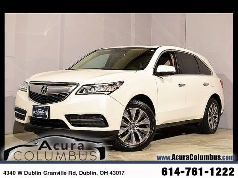 Used Acura MDX 3.5L Technology Pkg w/Entertainment Pkg