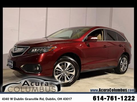 Certified Used Acura RDX AWD with Advance Package