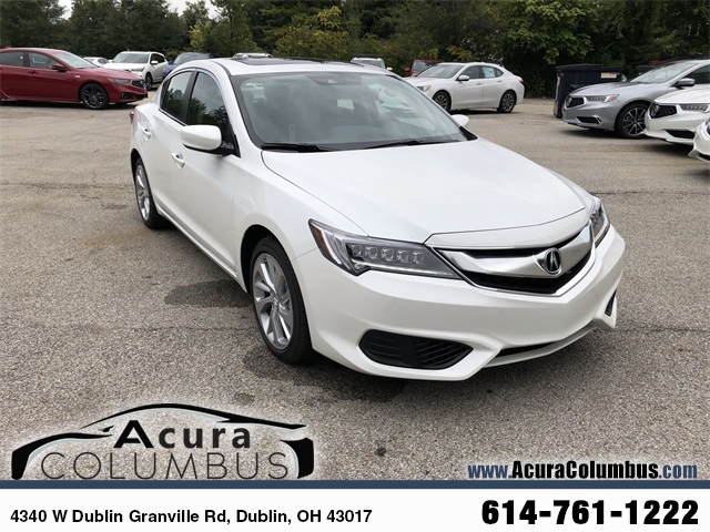 New 2018 Acura ILX Technology Package