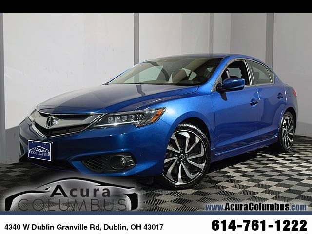 Certified Pre-Owned 2017 Acura ILX with Technology Plus and A-SPEC Package