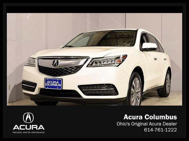 Certified Used Acura MDX with Technology Package