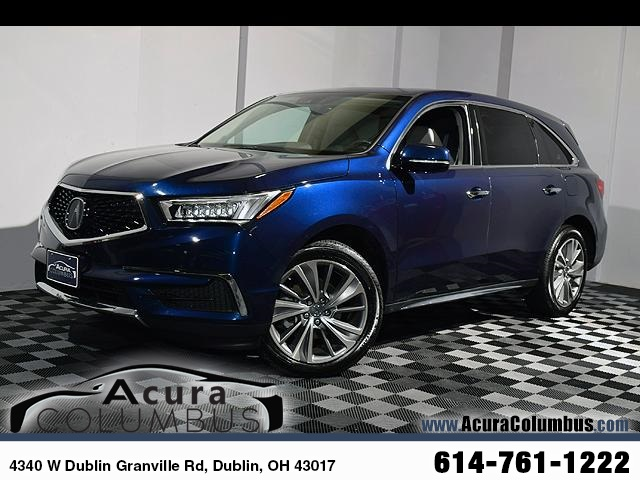 Certified Pre Owned 2017 Acura Mdx Sh Awd With Technology Package 4d