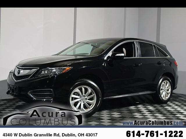 Certified PreOwned Acura RDX AWD With Technology Package D - Pre own acura