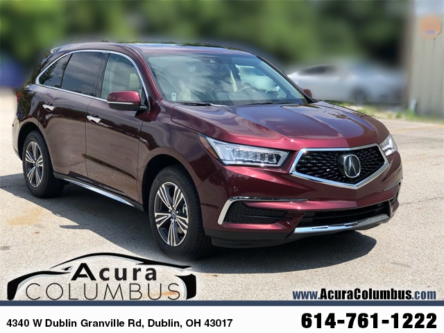 New Acura MDX SHAWD D Sport Utility In Dublin Acura - 2018 acura mdx hitch
