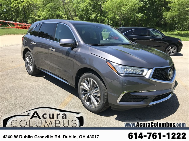 New Acura MDX SHAWD With Technology Package D Sport Utility - 2018 acura mdx wheels