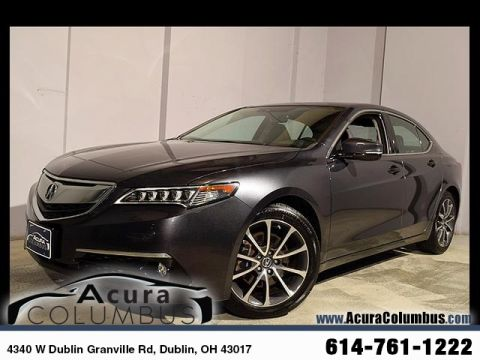 Certified Pre-Owned 2015 Acura TLX 3.5 V-6 9-AT P-AWS with Advance Package