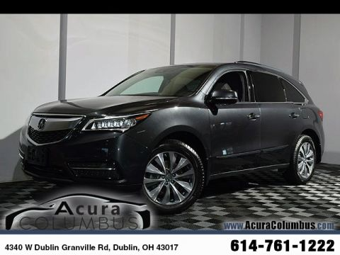 Certified PreOwned Acura MDX For Sale In Dublin OH Acura Columbus - Acura mdx for sale