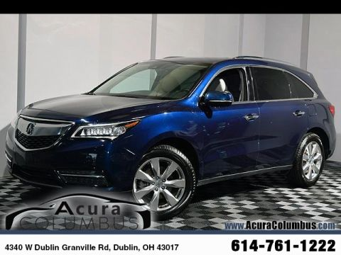 Certified Pre-Owned 2016 Acura MDX SH-AWD with Advance and Entertainment Packages
