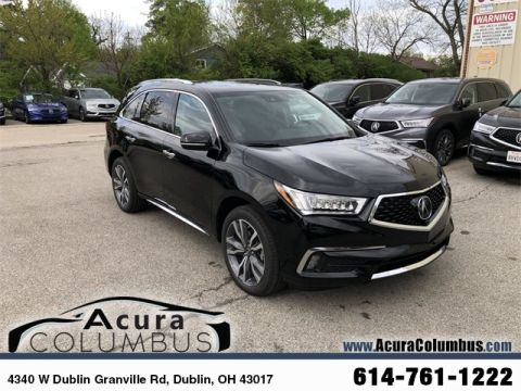 New 2019 Acura MDX SH-AWD with Advance and Entertainment Packages